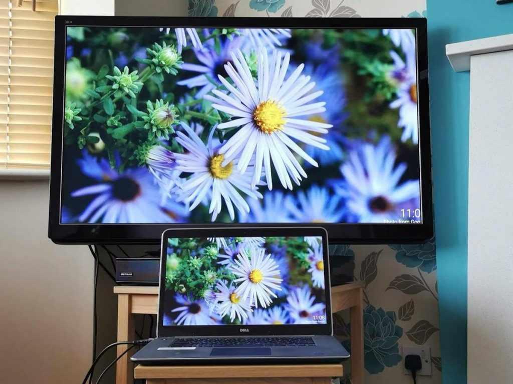 Вывод изображения на ТВ, используя HDMI