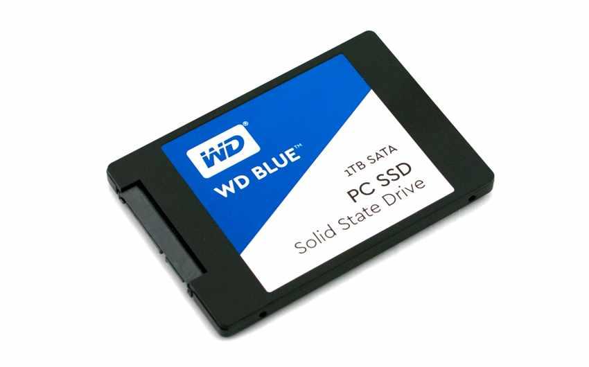 WD Blue SSD 1TB.