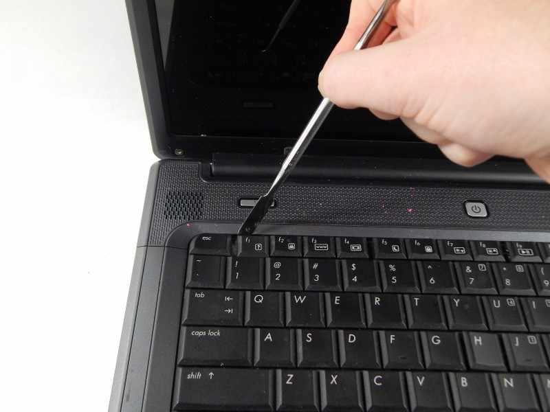 Разборка клавиатуры.