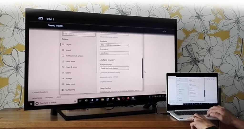 Как включить HDMI на ноутбуке