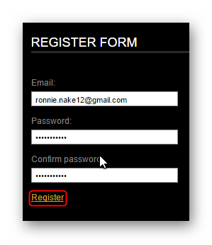 Поля регистрации VideoToolbox