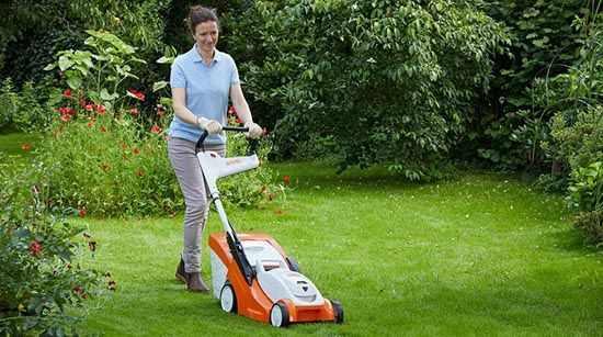 Как устроена газонокосилка: фото