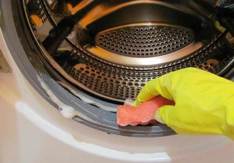 Как почистить стиральную машину 2: фото