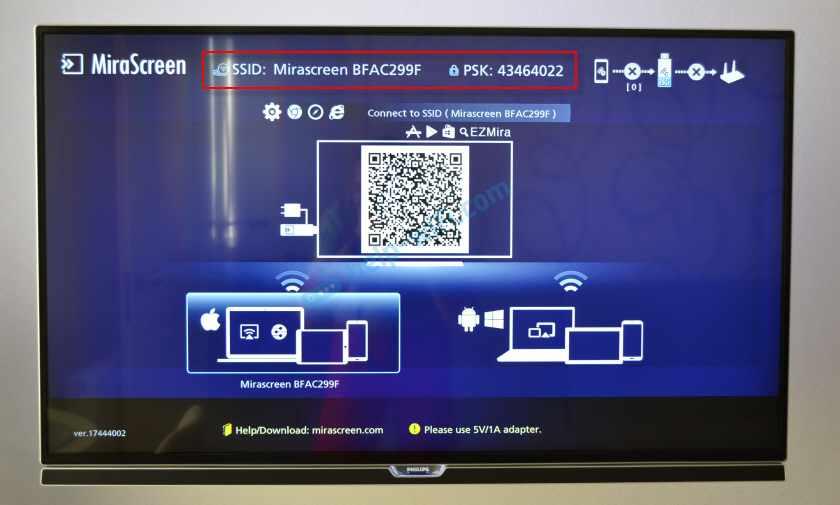 Настройка MiraScreen и AnyCast через Android или iPhone