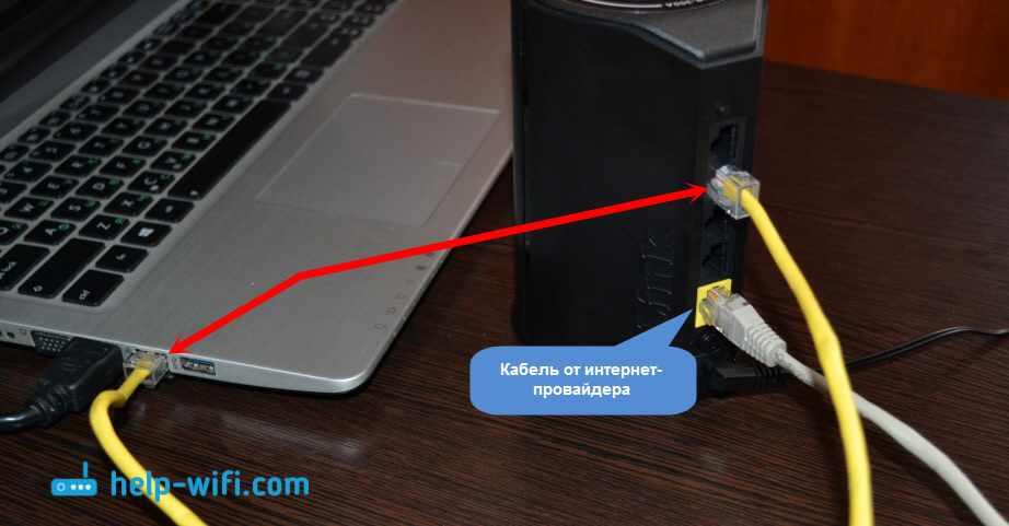 Подключение D-Link DIR-300A к компьютеру и интернету