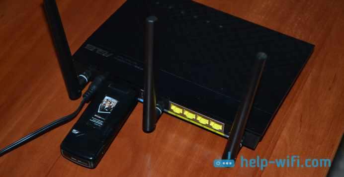 Роутеры ASUS, которые поддерживают 3G/4G модемы