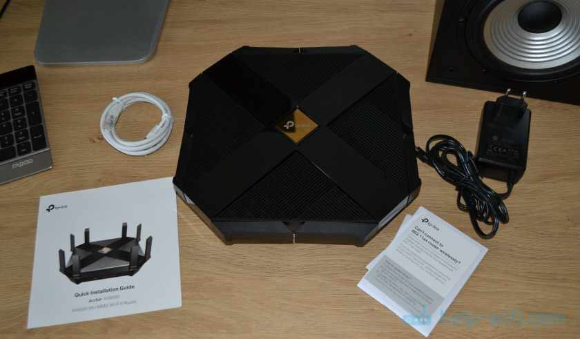 Комплектация TP-Link Archer AX6000