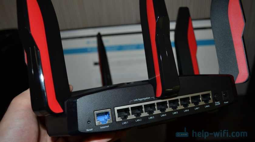 Порты на роутере TP-Link Archer C5400X