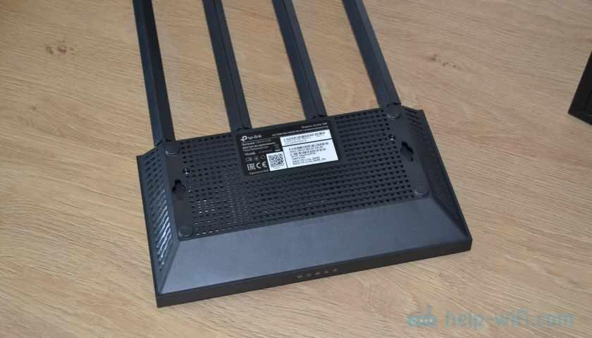 TP-Link Archer C80: вид снизу