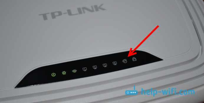На роутере не светит индикатор интернета WAN
